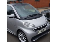 Smart FORTWO ,1.o ltr AUTO , 2012 Passion TOP OF RANGE , pano roof ,Super Car . NO TAX