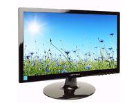 Hanns-G 19 inch Widescreen LED Monitor - Gloss Black