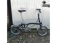 Black Brompton 2014 3ML For Sale