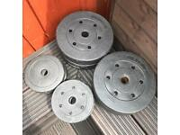 25kg Vinyl weight plates (standard)
