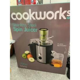 Cookworks spin juicer
