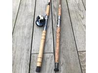 Fishing Rods (Boat x2) and Fishing Reel