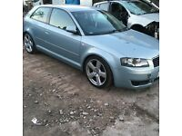 Audi A3 2.0Fsi 2004-2008 s line breaking engine gearbox alloys leather seats doors