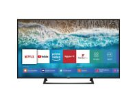 Hisense 55 inch Ultra HD 4K HDR Smart Led Tv top condition like NEW