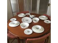 Wedgewood eight setting bone china dinner service