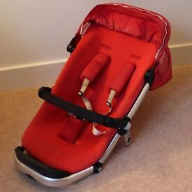 Quinny Buzz 3 | Pushchair | Strawberry Red | Sold Without the Base