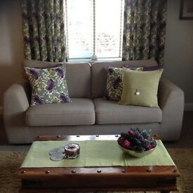 DFS sofas 2 seater and a 3 seater 16 months old excellent condition hardly sat on.