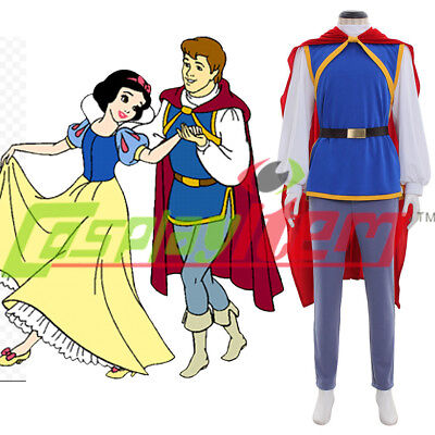Snow White Prince Costume Prince charming costume Outfit male - Prince Charming Snow White Costume