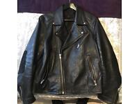H&M leather jacket (M-L)