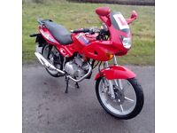 2001 KYMCO PULSAR LX125 125 LEARNER LEGAL MOTORCYCLE - FULL MOT