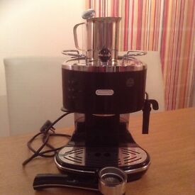 DeLongi Coffee Maker Eco310.BK.Hardly used. Immaculate condition