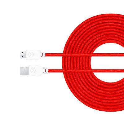 Brand New Original RED Nylon nabi 10' Charger Cable DreamTab, 2S, Jr, XD, elev-8