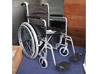 New Superlight Folding Aluminium Self Propelled Wheelchair