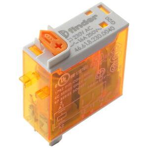 Finder 46.61.8.230.0040 Industrie-Relais 230V AC 1xUM 16A 250V AC Relay 855790