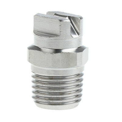 14 High Pressure Washer Spray Fan Nozzle Tip 65 Degree Stainless Steel