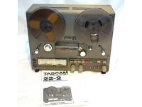 TASCAM 22-2 REEL-REEL TAPE DECK - VGC - BEAUTIFUL EXAMPLE - SERVICED - MANUAL - BOXED - £390 ONO.