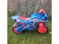 Ride on Balance Bike Spider man