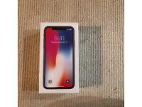 IPHONE X 64 GB BRAND NEW IN BOX UNLOCKED