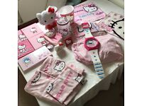 Hello Kitty bedroom makeover time-assorted items all in great pre-owned condition (1 of 2 listings)