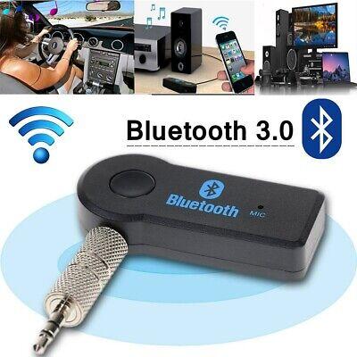 Bluetooth Audioempfänger KFZ Adapter Auto AUX Kabel klinke USB Empfänger 3.5mm (Auto Usb-audio)