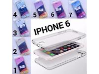 IPHONE 6 360 SILICONE MOBILE PHONE CASE COVERS / FREE UK POSTAGE
