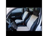 LEATHER CAR SEAT COVERS TOYOTA PRIUS 1999-2018 ALL COLOURS AND DESIGNS