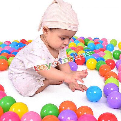 5.5cm 100pcs Balls Soft Plastic Ocean Balls Baby Kid children Swim Pit Toys