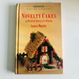 Novelty cakes and food book
