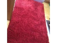 Beautiful High Quality Red Rug