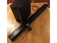 LG LAS350b Soundbar and Subwoofer