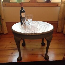 Vintage Upcycled Table