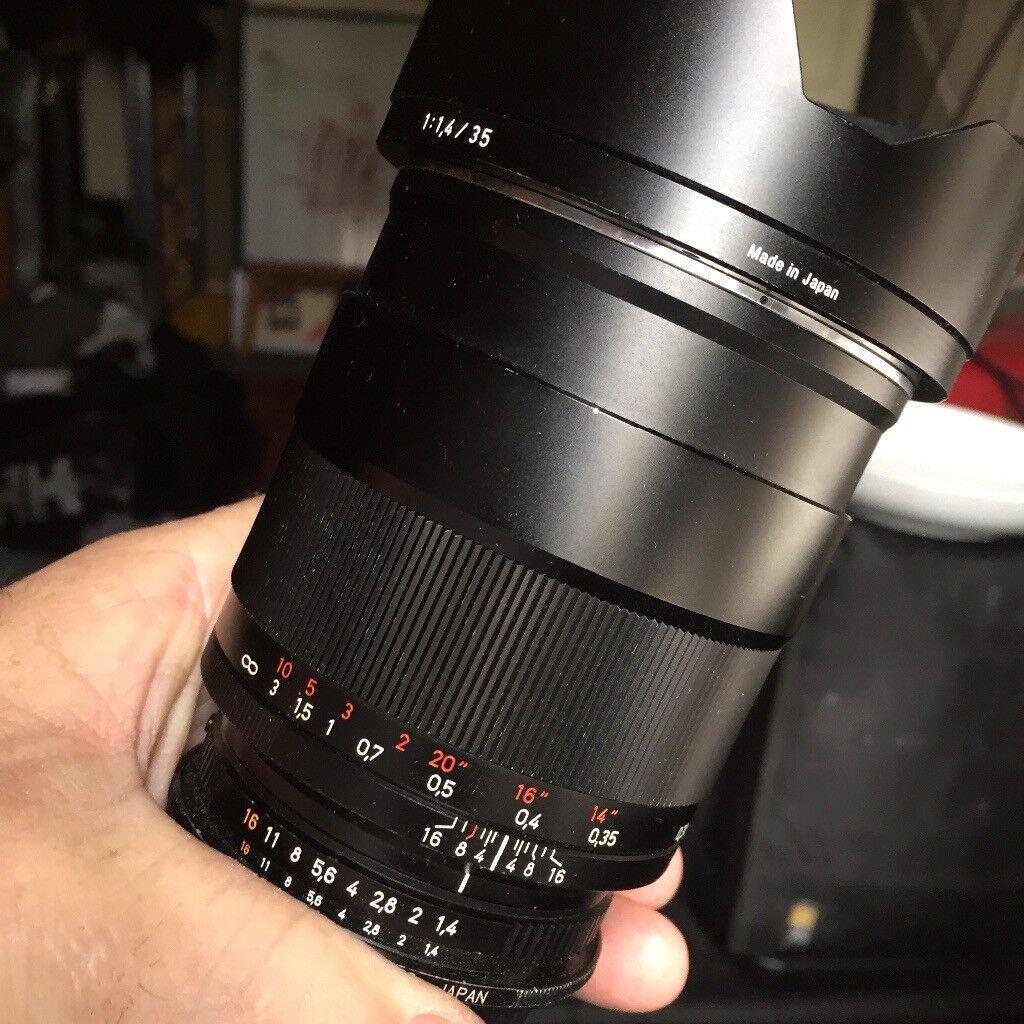 Carl Zeiss distagon 1,4/35 mm zf.2