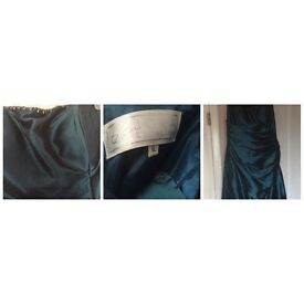 Stunning teal coloured dress