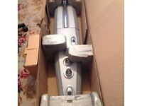 SHOWER showerforce matrix thermostatic multi heads new boxed £30.00