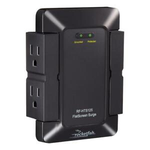 Rocketfish RF-HTS125 FlatScreen 4-Outlet Surge Protector (New Other)