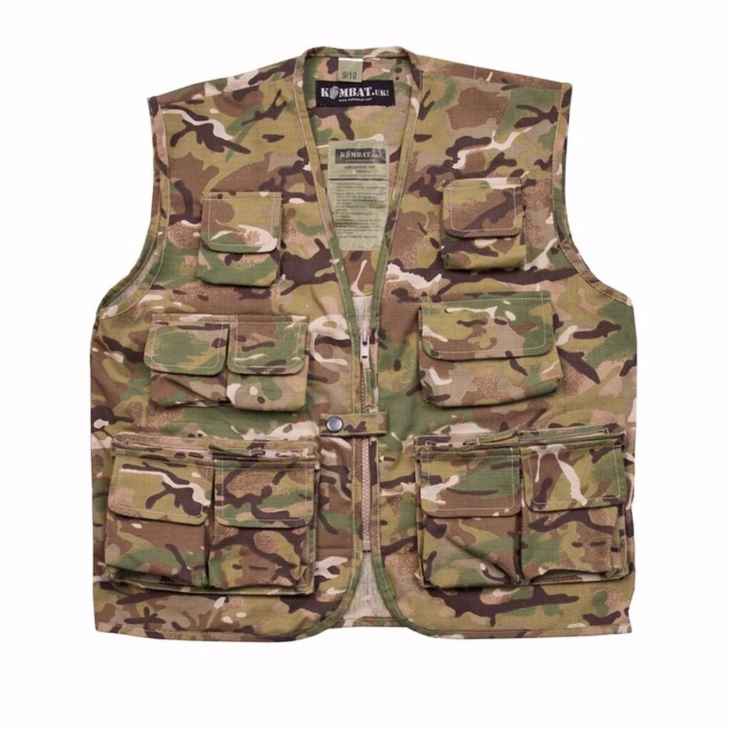 Kombat Kids Tactical Vest Btp Camouflage Army Style Airsoftin Caledon, County TyroneGumtree - Kombat Kids Tactical Vest BTP Kids Tactical Vest 65% Cotton 35% Polyester DPM ripstop. Zip Front 11 pockets