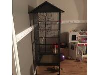 Bird/parrot cage
