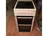 Beko electric cooker with fan assisted oven for sale