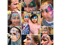 Face painter / glitter / face painting