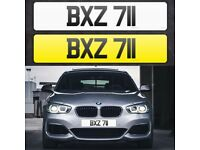 BXZ 811 - Short 3 digit NI Number Plate- Cherished Personal Private Registration plates