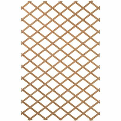 Nature Trellis Wood Brown 100x300cm Outdoor Wall Climbing Plant Support