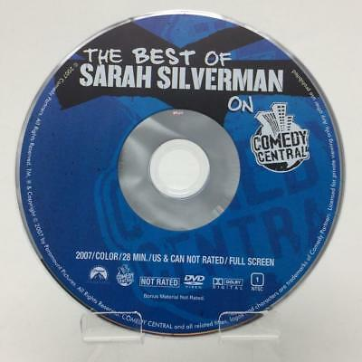 The Best of Sarah Silverman on Comedy Central DVD (Disc only) Crank