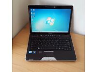 Toshiba Laptop Core i3 Windows 7 Office 320GB Hard Drive 4GB RAM WIFi