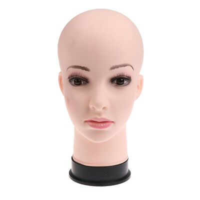 11-inch Female Pvc Mannequin Female Head Model Dummy Wigs Hat Display Stand