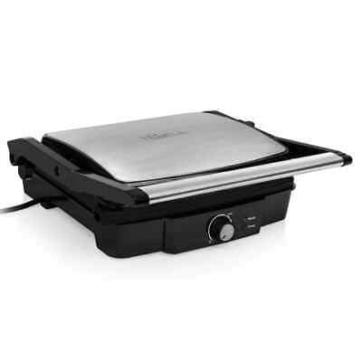 Tristar Grill de Contacto Negro 2000 W 29,7x23,5 cm Plancha Sandwichera Cocina