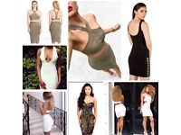 Wholesale designer boutique joblot starter pack bandage dresses £35 each mix and match any style