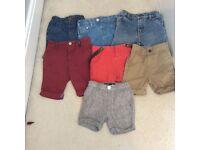 7 pair of boys shorts
