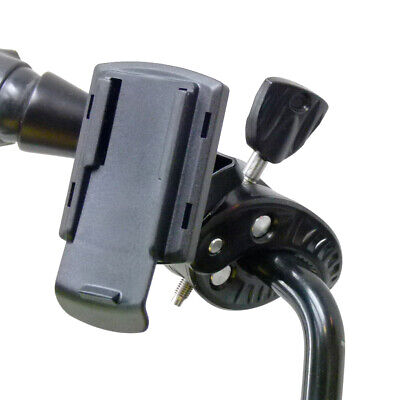 K-tech Clamp Bike Motorbike Scooter Mirror GPS Mount for Garmin eTrex 10 20 30 segunda mano  Embacar hacia Spain