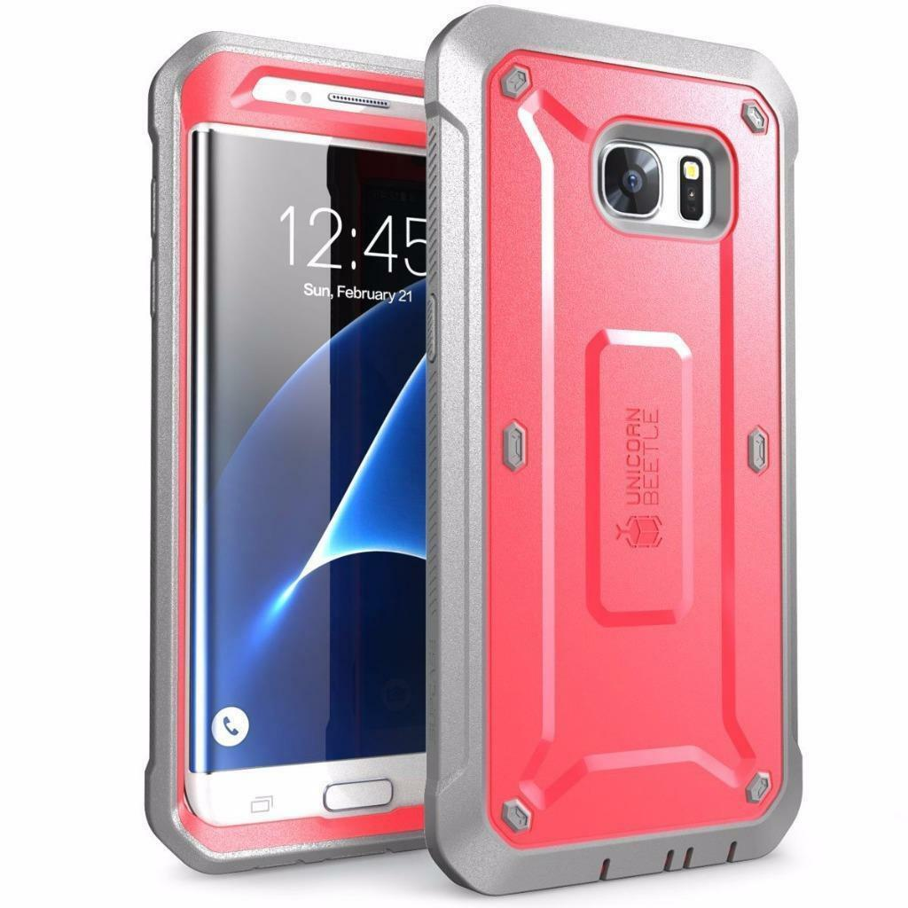 for samsung galaxy s7 edge case supcase rugged holster. Black Bedroom Furniture Sets. Home Design Ideas