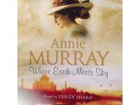 Anne Murray, Where Earth Meets Sky cd Audio. Book.